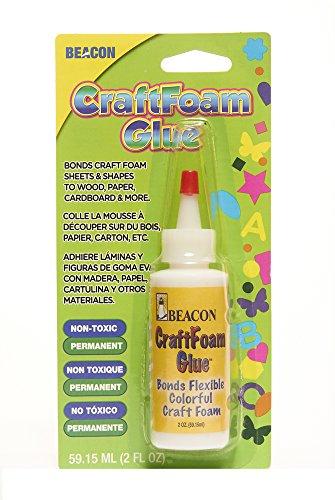 - BEACON CF2OZ Craft Foam Glue, 2-Ounce