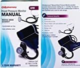 Manual Self Taking Arm Cuff Blood Pressure Monitor Medical Grade Accuracy