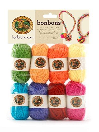 Lion Brand Yarn Lion Brand Bonbons 680 Crayons from Lion Brand Yarn