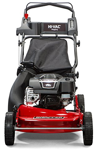 Snapper 2185020 / 7800979 HI VAC 190cc 3-N-1 Push Lawn Mower with 21-Inch Mower Deck and ReadyStart System and 7 Position Height-of-Cut