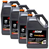 Replaces Echo 4PK Echo 2-Cycle Engine Oil Mix Extended Life Power Blend 6450050 (1) Gallon