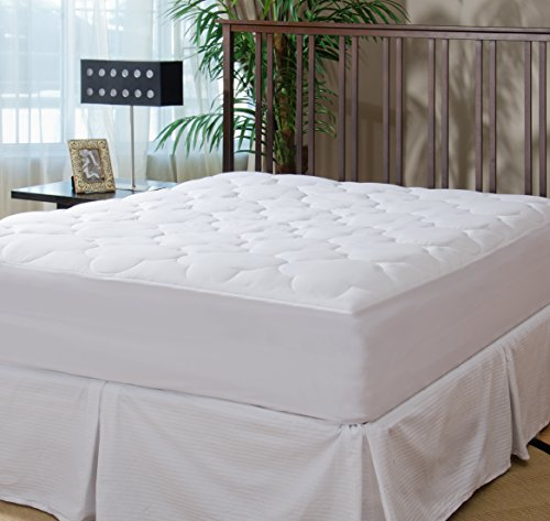 Micropuff - Down Alternative Mattress Pad - Fitted Style - Full Size (54