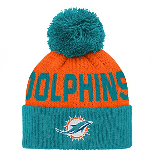 low priced c5d61 58eef Dolphins Baby Beanies, Miami Dolphins Baby Beanie
