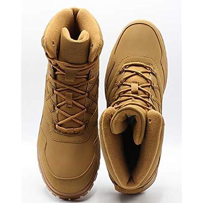 Fila Mens Pro Strap Boot - Black/Wheat Tan | Hiking Boots