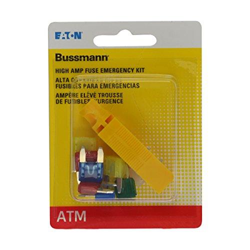 Amp Atm Fuses - Bussmann (BP/ATM-AH8-RPP) High Ampere ATM Emergency Fuse Kit - 8 Piece