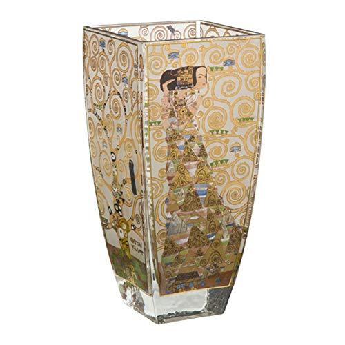 Gustav Klimt Expectation 23cm Glass Vase