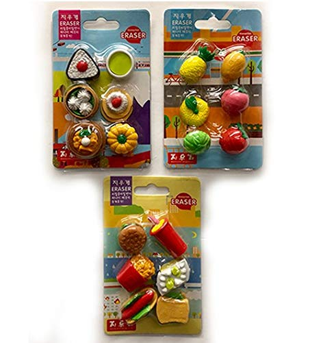 Mini Eraser Food Style 3, Case of 288