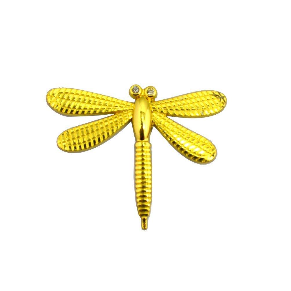 Amazon.com: Generic 3D Golden Metal Dragonfly Emblem Truck Motor ...
