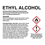 Ethanol 99.5% Denatured (Ethyl Alcohol), 2-Gallon