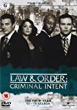 Law & Order: Criminal Intent - Season 5 [Import anglais]