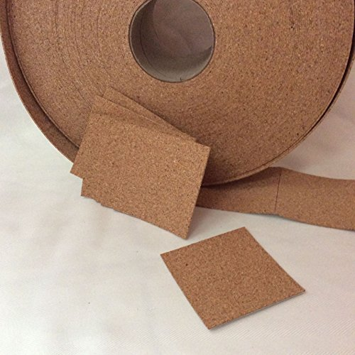 24 Self Adhesive Cork Backing For Tile Coasters 3 5 X 3 5