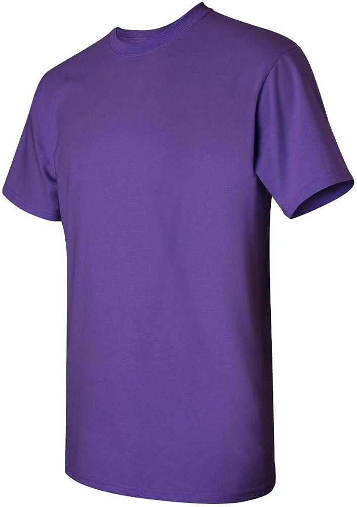 Pack of 12 Purple X-Large Gildan Mens Heavy Cotton Tee