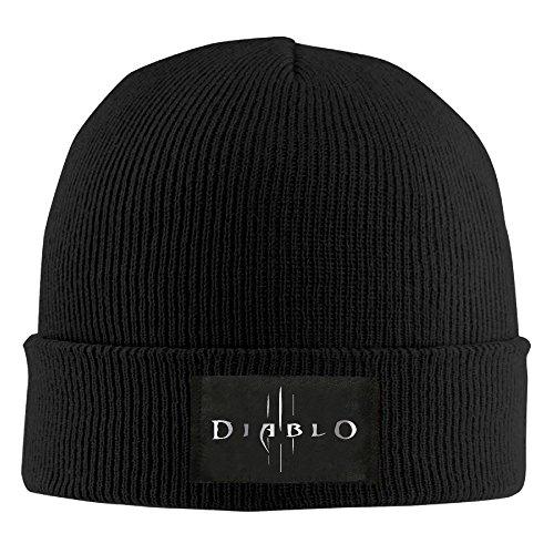 MRT-La Diablo III Diablo Logo Platinum Style Beanie Black