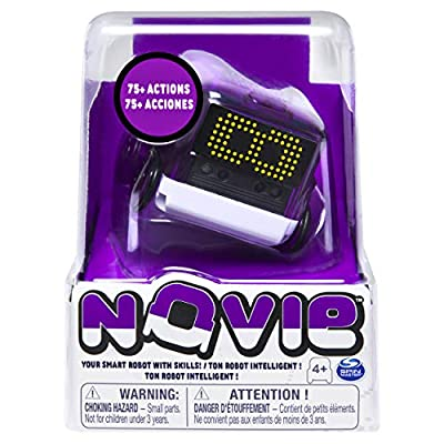 Novie, Interactive Smart Robot for Kids with Over 75 Actions & Learns 12 Tricks, Purple