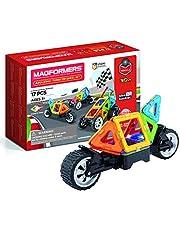 Magformers 707019 niesamowity zestaw kółek magnetycznych do budowania zabawek, wielokolorowa, 26,2 x 18,2 x 8 cm