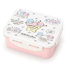 Little Twin Stars Clip Down Lunch Box Container