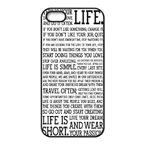 Start Simple Design Cheap Custom Hard Case Cover for iPhone 5,5S, Start Simple iPhone 5,5S Case