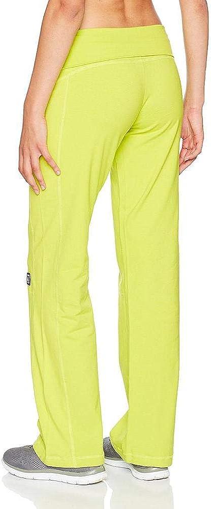 Color Verde Pantal/ón Largo para Mujer Talla S TRANGO Fit
