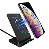 Wireless Charger, LK Qi Fast Wireless Charging Pad Stand...