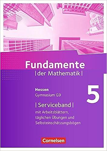 Fundamente der Mathematik - Hessen: 5. Schuljahr - Serviceband ...