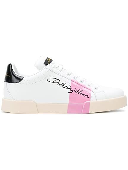 Dolce E Gabbana - Zapatillas para Mujer Weiß IT - Marke Größe, Color, Talla 37.5 IT - Marke Größe 37.5: Amazon.es: Zapatos y complementos