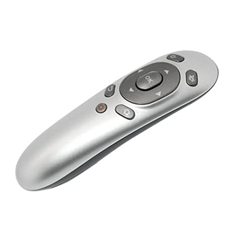 c71026dda9e NAMEO Air Mouse, Mini 2.4G Wireless Gyroscope 6D Air Mouse + Laser Pointer  Presenter