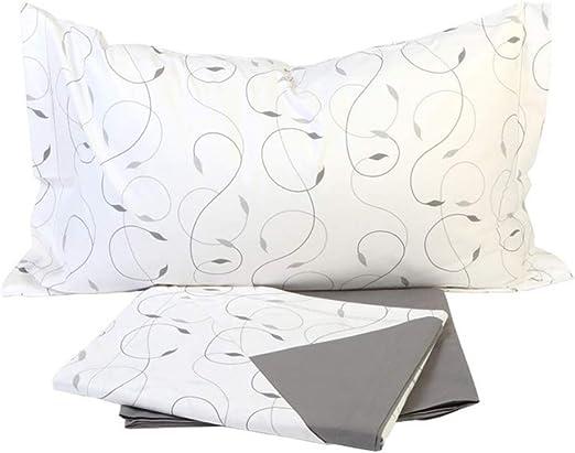 Giosal - Juego de sábanas de Hiedra para Cama de 1,5 plazas, 140 x ...