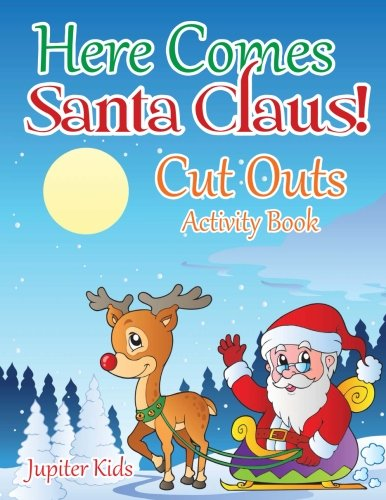 Here Comes Santa Claus! Cut Outs Activity Book]()
