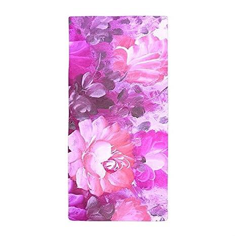 jesspad toalla de baño colorido Retro rosa diseño de flores playa piscina toallas: Amazon.es: Hogar