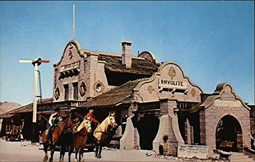 - Historic Ghost Town Rhyolite, Nevada Original Vintage Postcard
