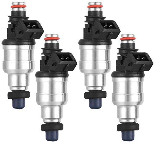 Fuel Injector for92-96 Honda B16 B18 B20 D16 D18 F22 H22 H22A VTEC 440CC 1set 4