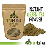 Instant Green Tea Powder - 100% Pure Tea - No Fillers, Additives or Artificial Ingredients of Any Kind 12 ✔ THE BEST GREEN TEA POWDER TO LOSE WEIGHT: Scientific studies have discovered that the main ingredients responsible for green tea slimming effects are caffeine and EGCG (epigallocatechin gallate). ✔ ONE SINGLE INGREDIENT: 100% pure green tea made from ground tea leaves. No flavors, preservatives, colors or fillers of any kind added. Not the diluted, off-tasting chemical filled product you're used to buying in the supermarket. This is as pure as it gets! ✔ HEALTHY ALTERNATIVE TO COFFEE: Minimally processed, and free of additives, Tea Factory Instant Green Tea offers a delicious, easy to consume instant tea that contains over one hundred times more antioxidants as compared to brewed tea.