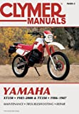 Yamaha XT350 and TT350 1985-2000 (Clymer Motorcycle Repair)