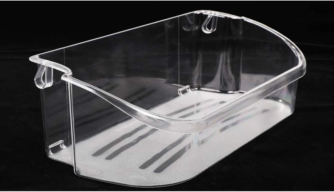 Reyhoar 240356402 Clear Refrigerator Door Bin Side Shelf Replacement Part - Compatible with Frigidaire & Kenmore & Electrolux Refrigerator - Replaces AP2549958, 240430312, 240356416, 240356407