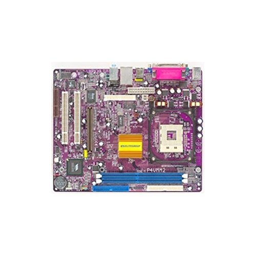 ECS P4VMM2 Version 7.1. Socket 478 P4 motherboard, VIA P4M266A chipset, FSB 533/400MHz, 2 DDR266/200MHz max 2GB, UDMA 133 / 100, 1 AGP4x, 2 PCI, 1 CNR slot. On-board audio, video, 10/100 LAN, USB 2.0,