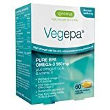 10 PACK Vegepa Omega-3-6 Supplement, 800mg Wild Fish Oil with Virgin Evening Primrose Oil, 560mg Omega-3 EPA with GLA for Balanced Omega-3-6 Intake, GMP Manufactured, 10×60 Softgels