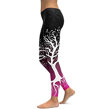 ZIJS Pantalones de Yoga Pantalones de Yoga Fitness Leggings ...