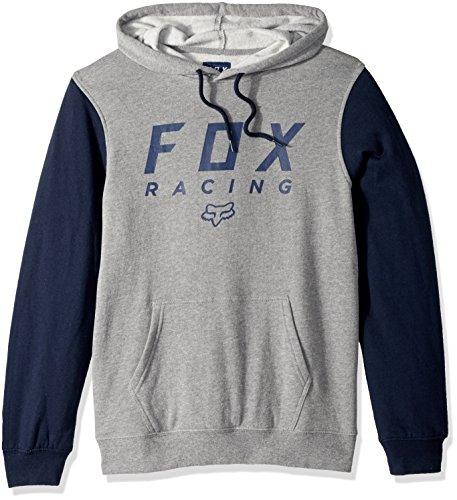 Fox Men's All Day Pullover Fleece, Heather Graphite, 2X
