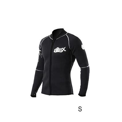 c3ba440896 ZHUOTOP Men Women 3mm Neoprene Wetsuit Jacket Scuba Diving Swim Wear Kit  Surfing Snorkeling Swimsuit Tops