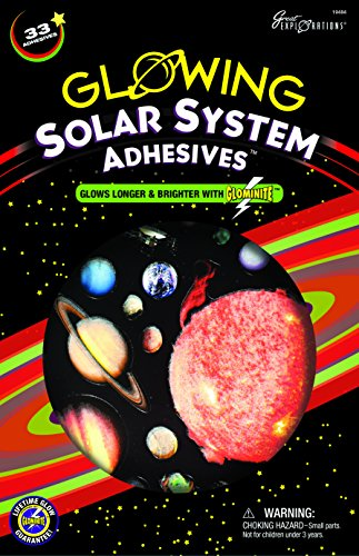 Great Explorations Solar System Adhesives