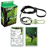 Tumbo Tugger Outdoor Hanging Doggie Bungee Rope Toy, Large For Sale