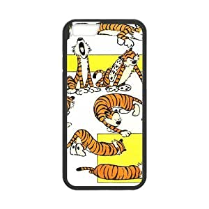 """Fayruz - iPhone 6 Rubber Cases, Calvin And Hobbes Hard Phone Cover for iPhone 6 4.7"""" F-i5G412"""
