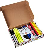 Writing Essentials Kit: Sharpie Markers & Highlighters, Paper Mate Pens, EXPO Dry Erase & More, 20 Count