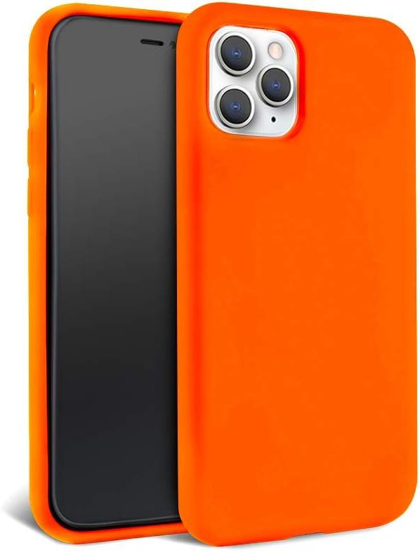 Neon Orange Silicone Case for iPhone 11 Pro Max - FELONY CASE - Flexible Protective iPhone 11 Pro Max Case - Bright Neon Orange iPhone Case