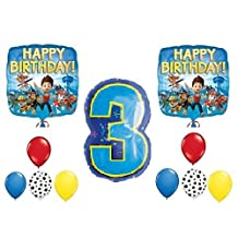 PAW Patrol 3rd Happy Birthday Balloon Decoration Kit