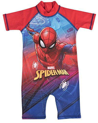 (Spiderman Sun Suit 2-3 Years)