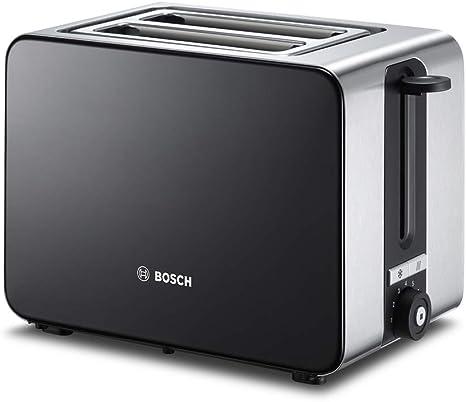 Bosch TAT7203 Tostador Compacto de Acero Inoxidable, 2