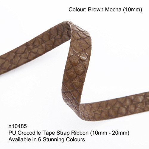 Neotrim PU Faux Imitation Leather Crocodile Croc Skin Tape Trimming Ribbon Strap, Now in 6 Gorgeous colours, Stunning Texture Finish, Striking Embellishment Company Value Fleece Jacket