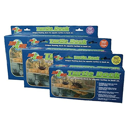 Zoo Med Turtle Dock – Conception Ile avec Rampe, in Différentes Tailles