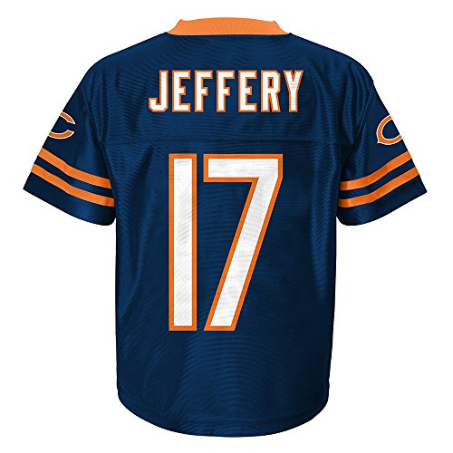 (Outerstuff Alshon Jeffery NFL Chicago Bears Replica Home Navy Blue Jersey Toddler (2T-3T))
